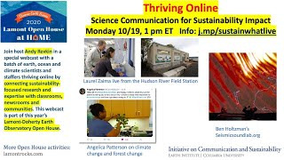 Thriving Online: Creative Communication Paths from Science to Sustainability
