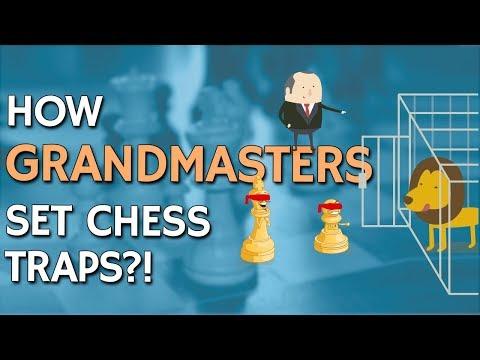 How Grandmasters Set Chess Traps 🕵 by IM Valeri Lilov