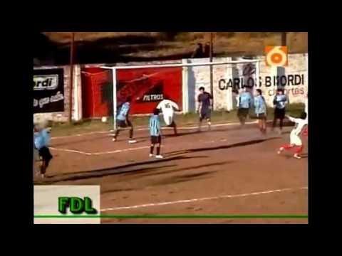 Resistencia Central gol Tom Perez a fontana