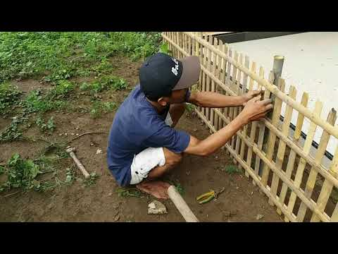 520 Gambar Rumah Sederhana Pagar Bambu Terbaru
