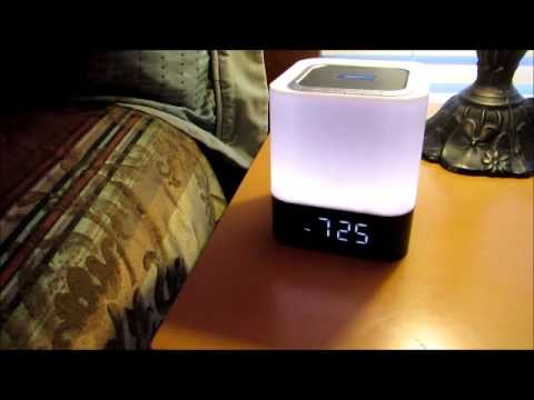 Musky Bluetooth Touch Lamp Speaker Youtube