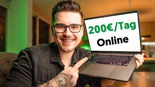 So verdienst du Online 200€ pro Tag als Anfänger