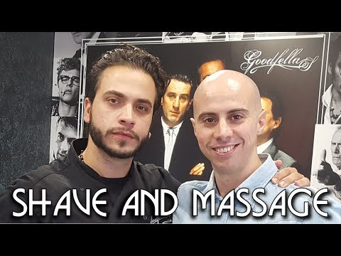 💈 Old school Barber - Complete Face and Head Shave with Massage ASMR no talking Personal Attention