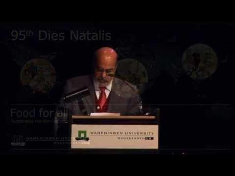 Speech José Graziano Da Silva at the 95th Dies Natalis Wageningen University in March 2013