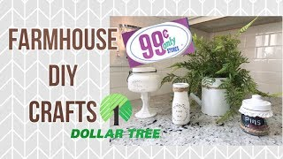 DOLLAR TREE /FARMHOUSE DECOR IDEAS // SHOPPING HAUL