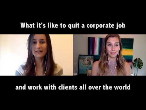 Quit your job | Work with clients as a digital nomad | Elise Darma