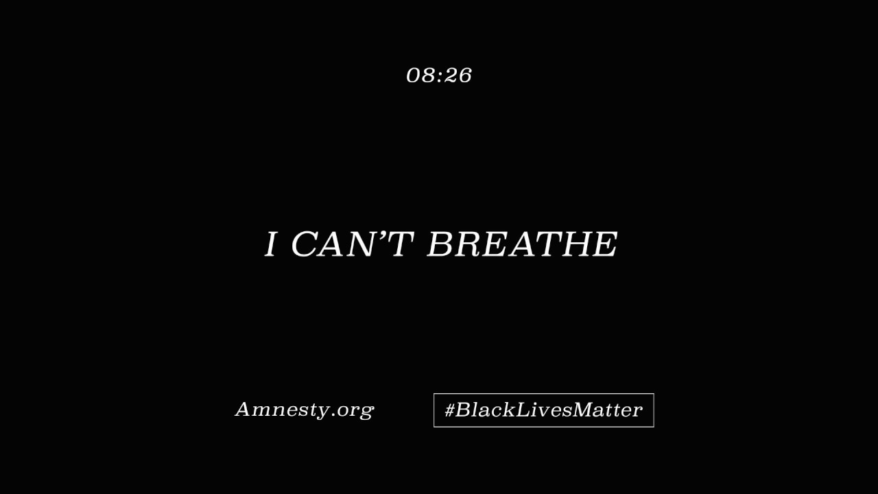 I can't breathe - 8 minutes and 46 seconds - YouTube