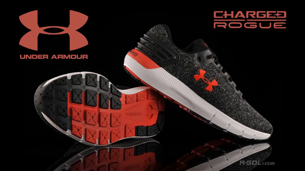 Under Armour Charged Rogue running