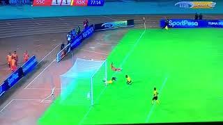 Goli la emmanuel Okwi Simba vs Asante kotoko