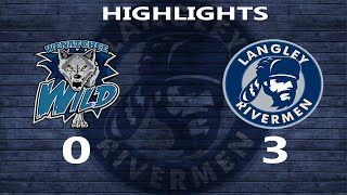 2015-10-09 Langley Rivermen vs Wenatchee Wild: Highlights