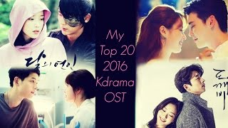 My Top 20 Kdrama Ost's Of 2016