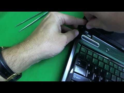 Toshiba Satellite L645 Laptop Screen Replacement Procedure