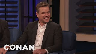 Matt Damon Left A Massive Spider On Chris Hemsworth