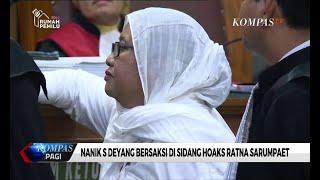 Download Video Bersaksi di Sidang, Nanik Akui Tahu Informasi Ratna Sarumpaet Dianiaya MP3 3GP MP4