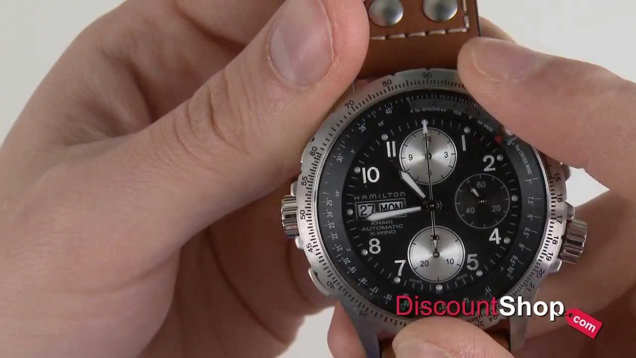 878b1af8443 Hamilton Khaki X-Wind Automatic H77616533 - review by DiscountShop ...
