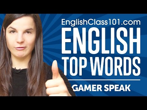 "Thumbnail: Learn the Top 10 ""Gamer Speak"" Words in English"