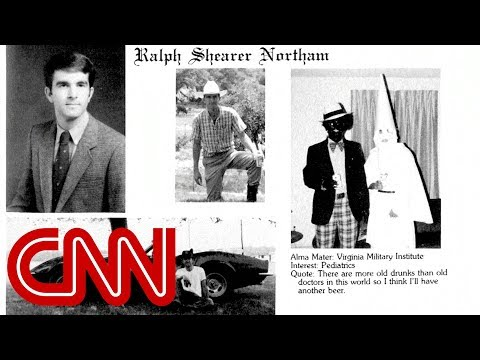Virginia governor Ralph Northam's yearbook has people in blackface, KKK robe