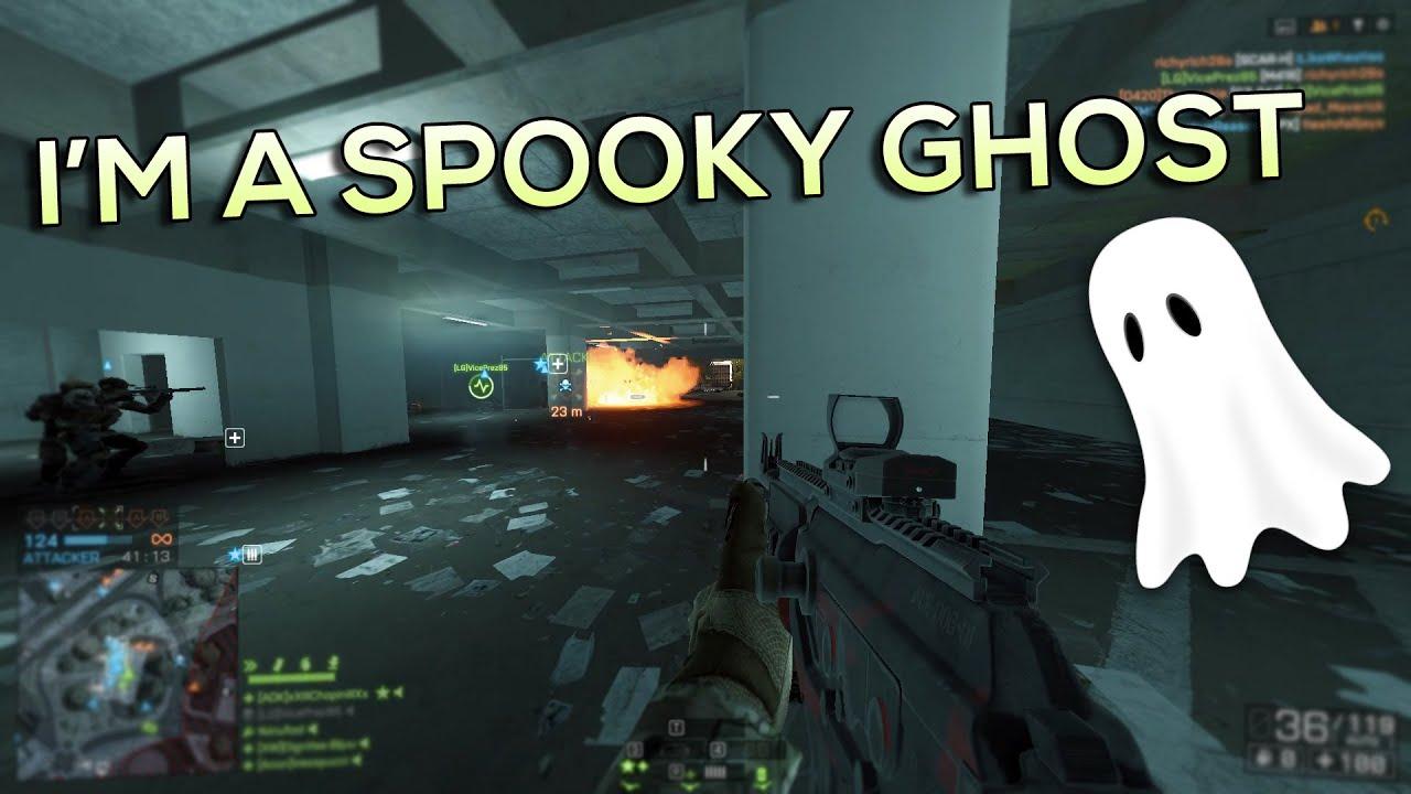 I'M A SPOOKY GHOST! - Battlefield 4 - YouTube