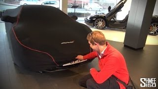 McLaren 12C Collection Day at McLaren Manchester