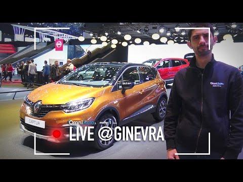 Renault Captur restyling | Salone di Ginevra 2017