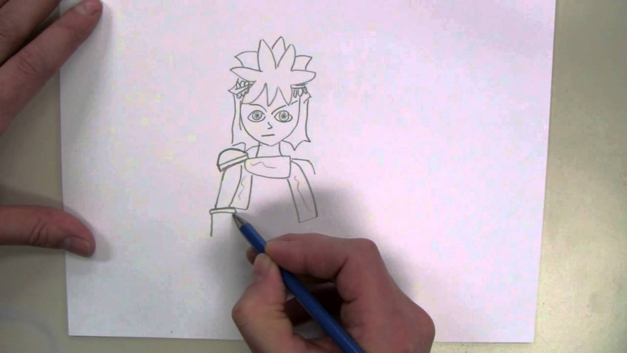 How To Draw Pit From Kid Icarus