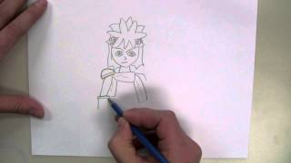 How To Draw: Pit from Kid Icarus