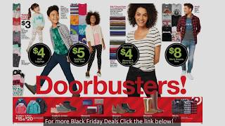 Target Black Friday 2018 AD / Great Women Clothing Deals!
