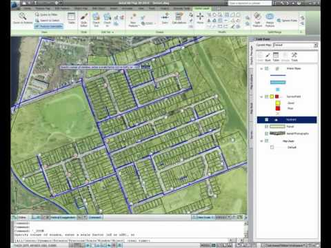 analysis tools autocad map 3d 2011 youtube