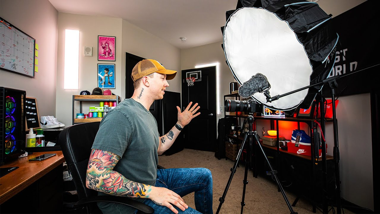 Level Up Your Studio Youtube Studio Setup Tips And Ideas Youtube