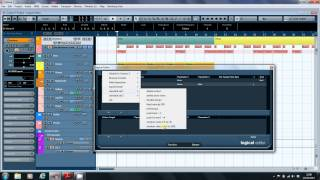 Introduction to the Cubase Logical Editor, Part 1
