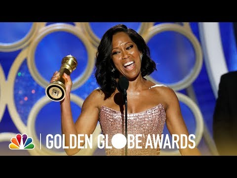 Regina King Wins Best Supporting Actress - 2019 Golden Globes (Highlight)
