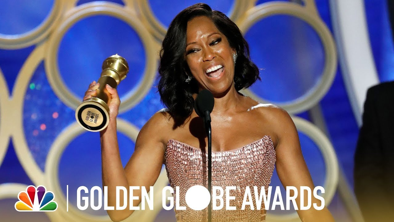 Regina King Wins Best Supporting Actress - 2019 Golden Globes (Highlight)