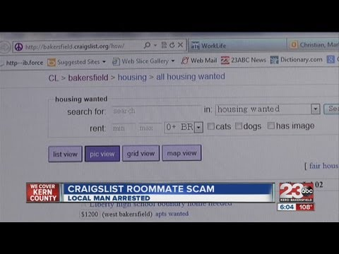 Suspect arrested in Craiglist, CSU Bakersfield scam - YouTube