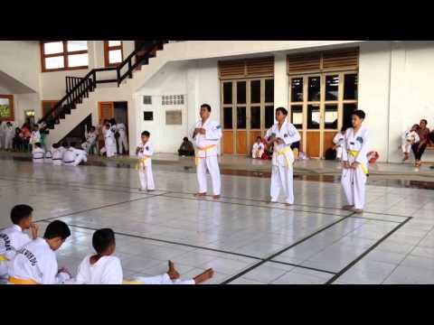 Ujian Kenaikan Taekwondo Sabuk Kuning