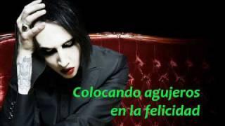 Marilyn Manson - Putting Holes In Happiness - Con Subtítulos En Español