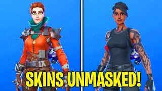 FORTNITE SKINS WITHOUT THEIR HEADGEAR/MASK!! *Glitch* (AMAZING EXTRA STYLE OPTIONS)