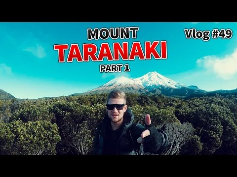 Climbing Mt Taranaki - Part 1 - Travel New Zealand - Vlog #50