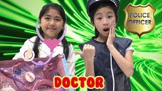 Pretend Play Police With Doctor Save the Day