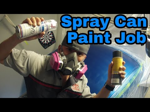 Flipping A Silverado – Episode 3 | Painting With Spray Cans Spraymax 2k Clear Coat Fix Faded Paint