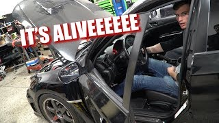 homepage tile video photo for This STi Is BEAST! - Corvette Gets Sideways Street Racing