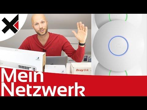 Mein UniFi Netzwerk Aufbau zu Hause und im Home Office Tutorial Deutsch | iDomiX