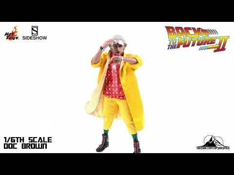 Optibotimus Reviews: Hot Toys Back To The Future 2 DR EMMETT BROWN