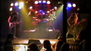 Rare live ANVIL song  A.Z. #85 from London Ont. May 1990.mpg
