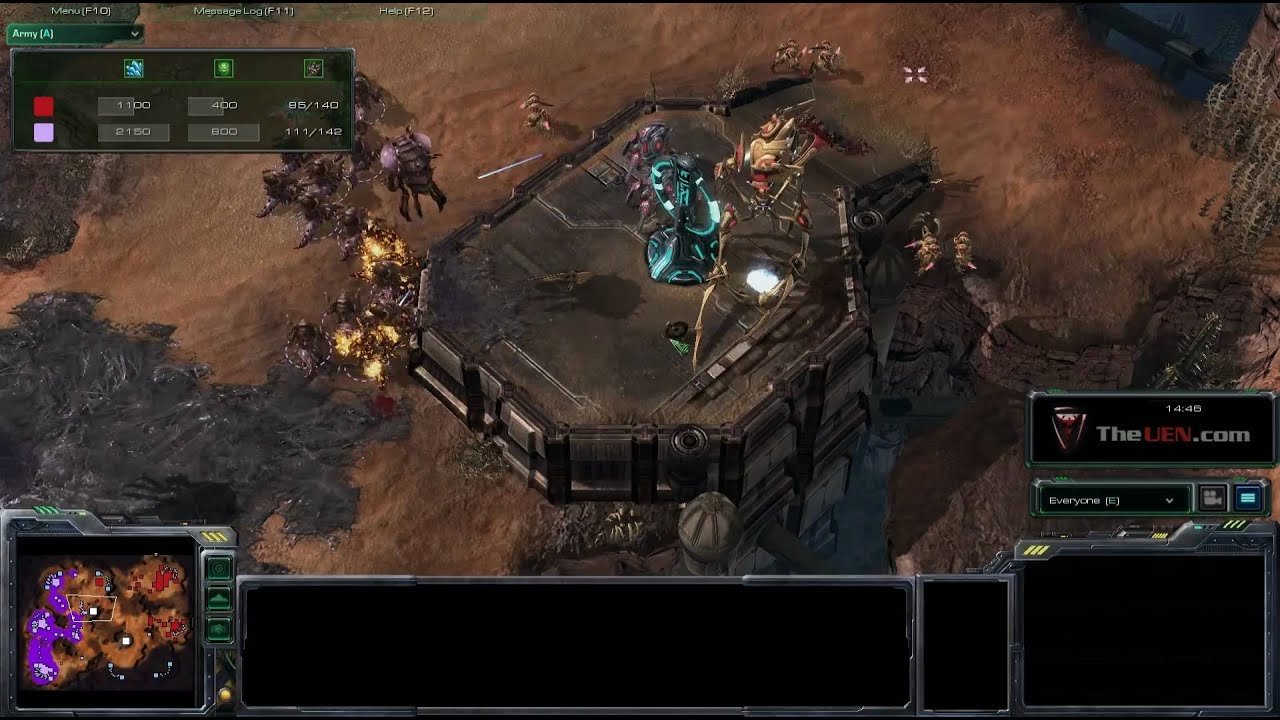 How to Use the Protoss Colossus unit effectively against
