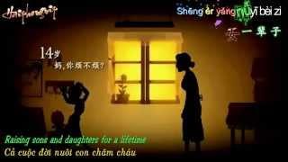 Thời Gian Đi Đâu Mất Rồi - 时间都去哪了 [VietSub+kara] Pinyin