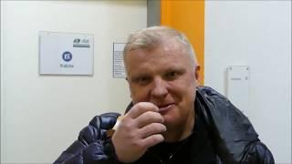 Футбол Легенды в Берлине Интервью Сергей Кирьяков