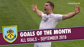GOALS OF THE MONTH | September 2018