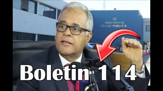 ÚLTIMO MINUTO BOLETIN 114 DE SALUD PUBLICA HOY 11/7/2020