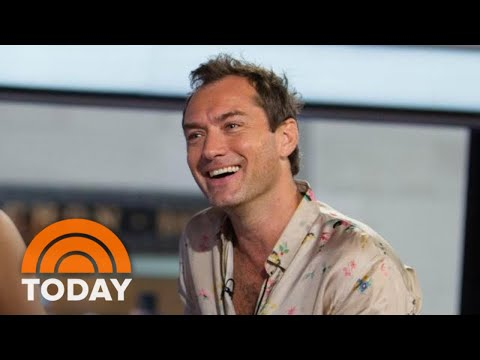 Jude Law Talks About Playing Dumbeldore In Upcoming 'Fantastic Beasts' Movie | TODAY