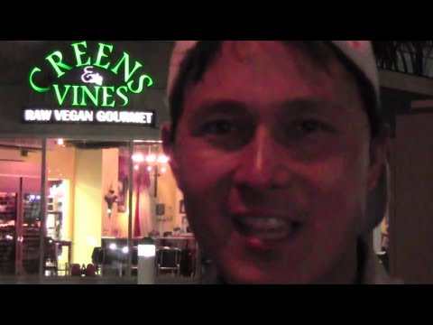 Greens and Vines Gourmet Raw Food Restaurant Review